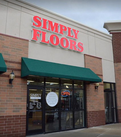 Simply Floors in West Chester, OH.
